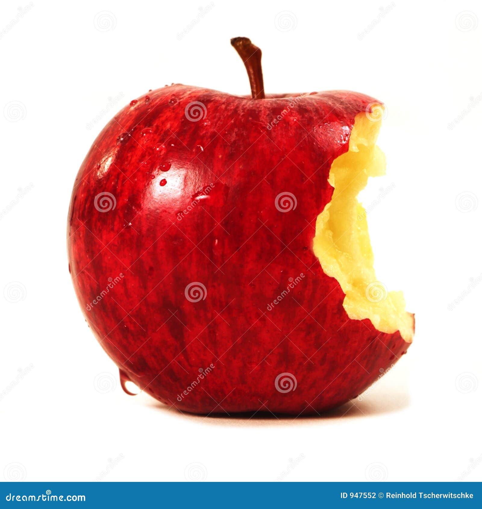 äpple biten red