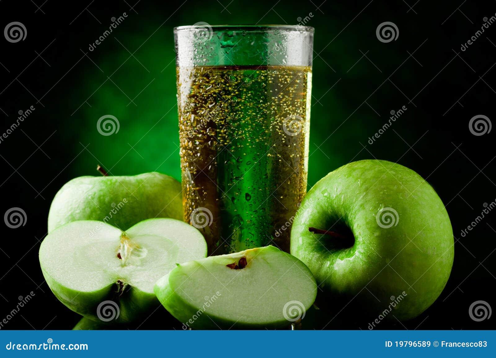 äpple - grön fruktsaft