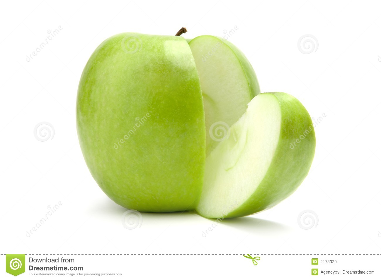 äpple - skivad green