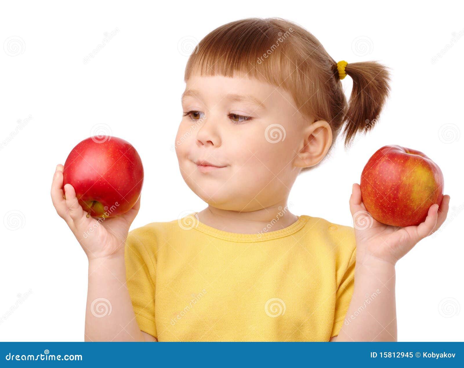 äpplebarnet väljer gulliga två