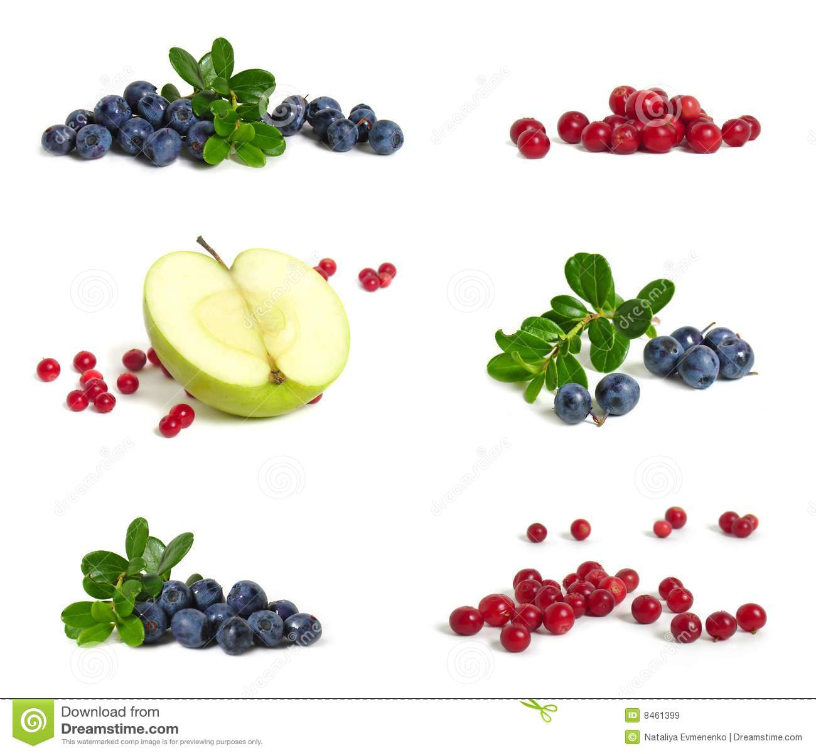 äppleblåbärcranberries