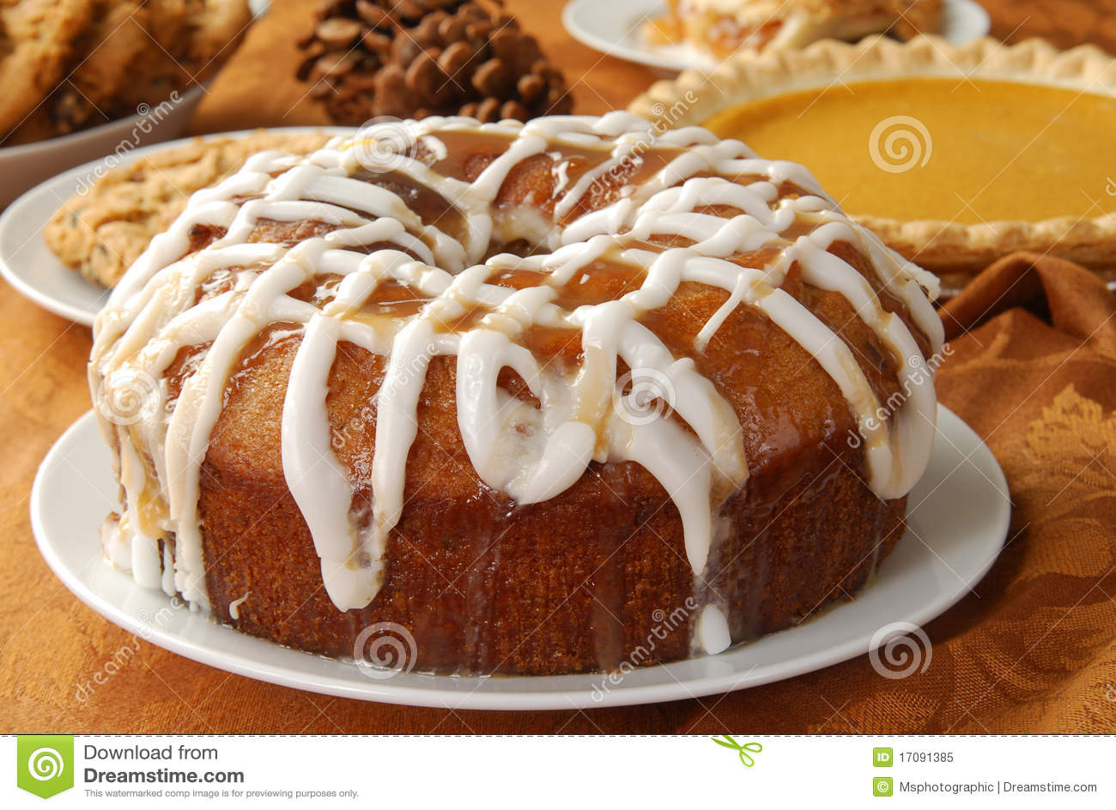 äpplebundtcake