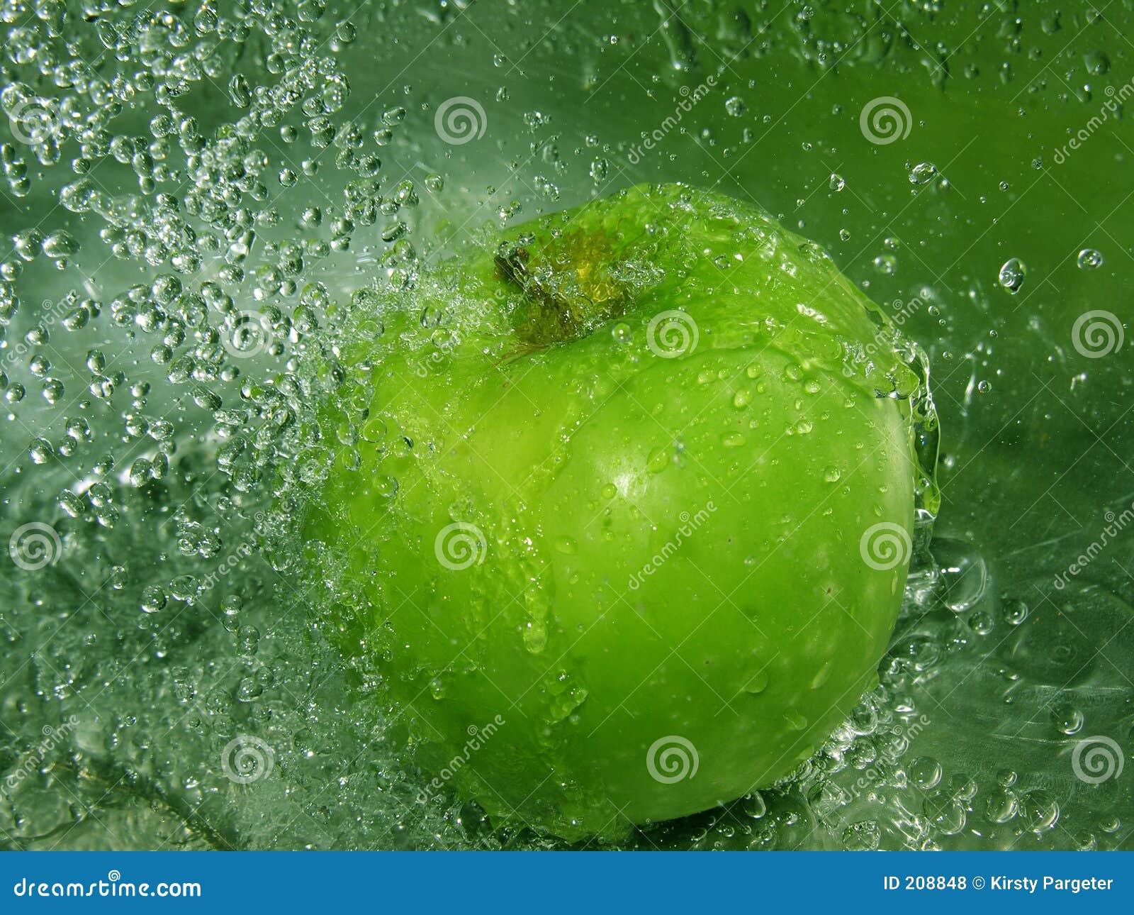 äpplefärgstänk