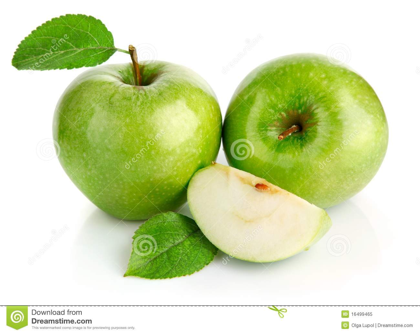 äpplesnittet bär fruktt green