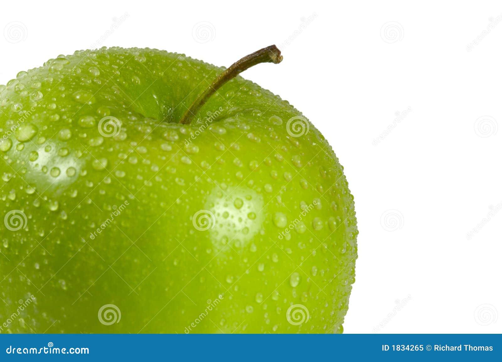äpplet - green vått