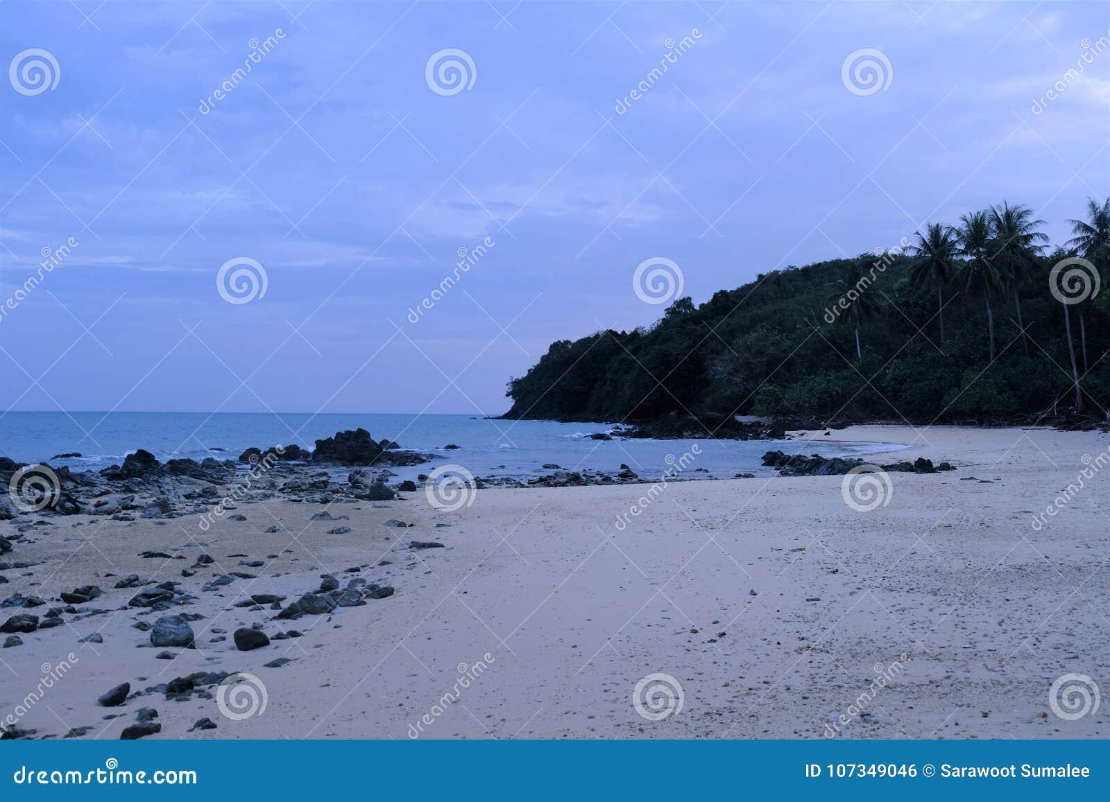 Är här stranden i Thailand