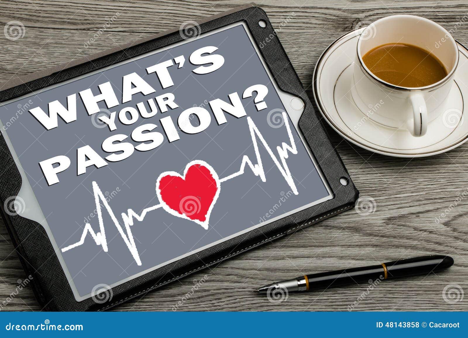 Vad ar en passion