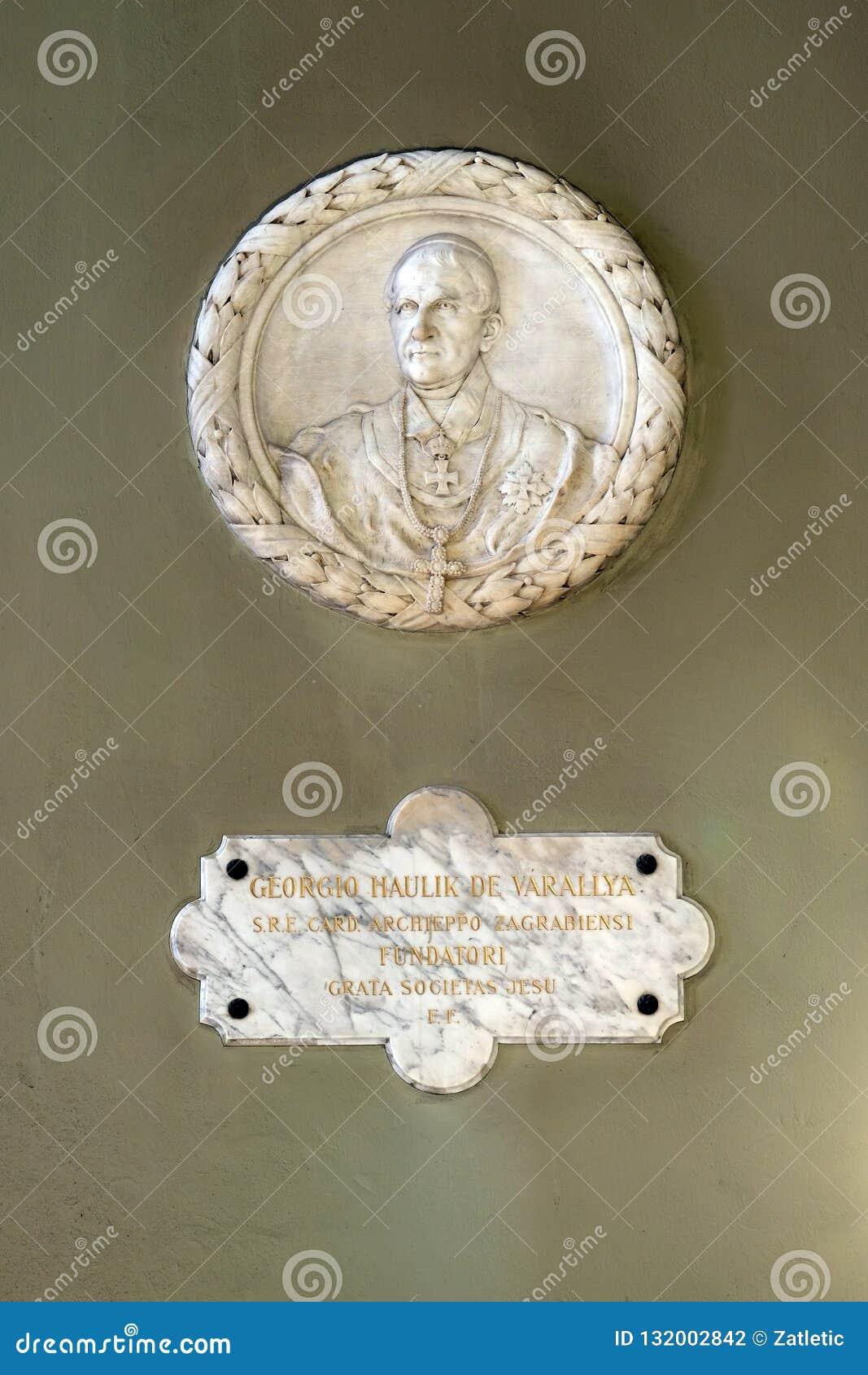 Ärkebiskop George Haulik