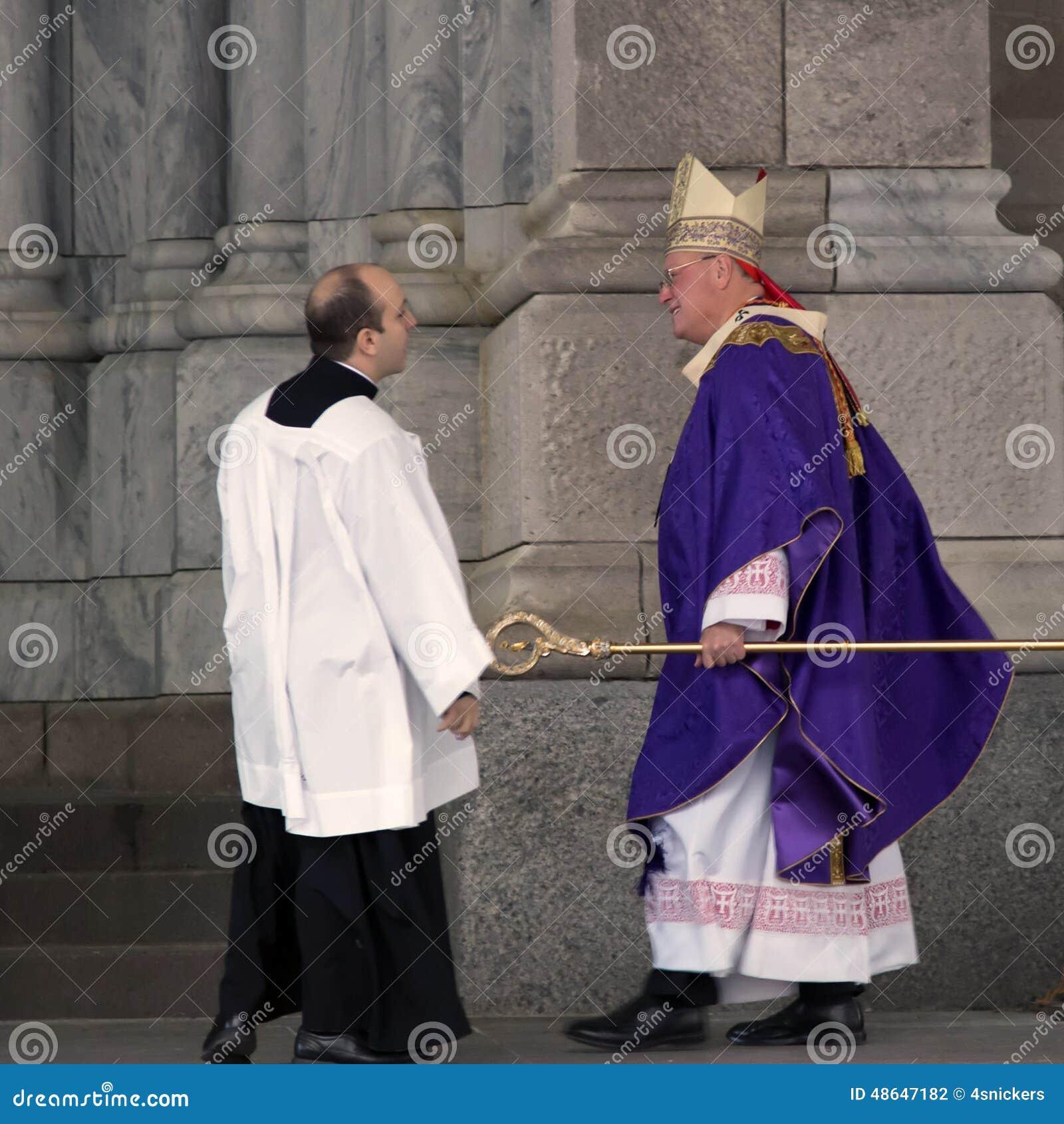 Ärkebiskop Timothy Dolan St Patricks Cathedral