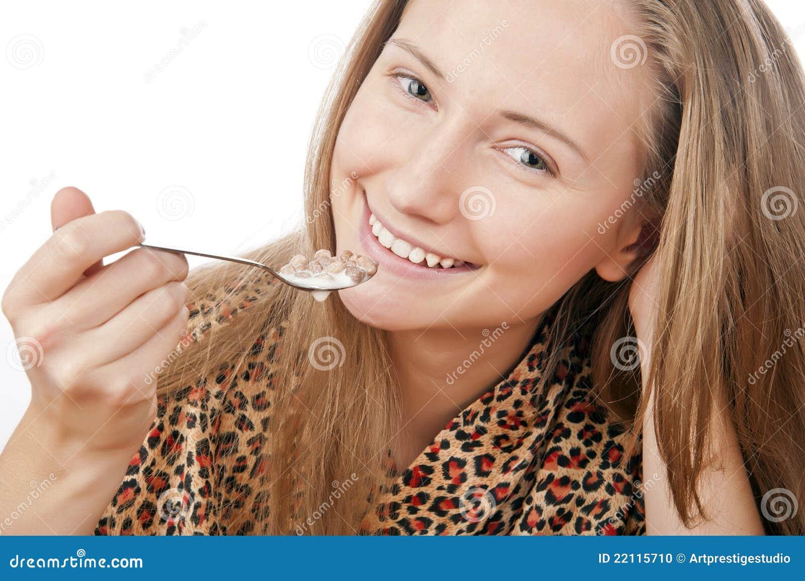 äta barn för flakesflickaståenden
