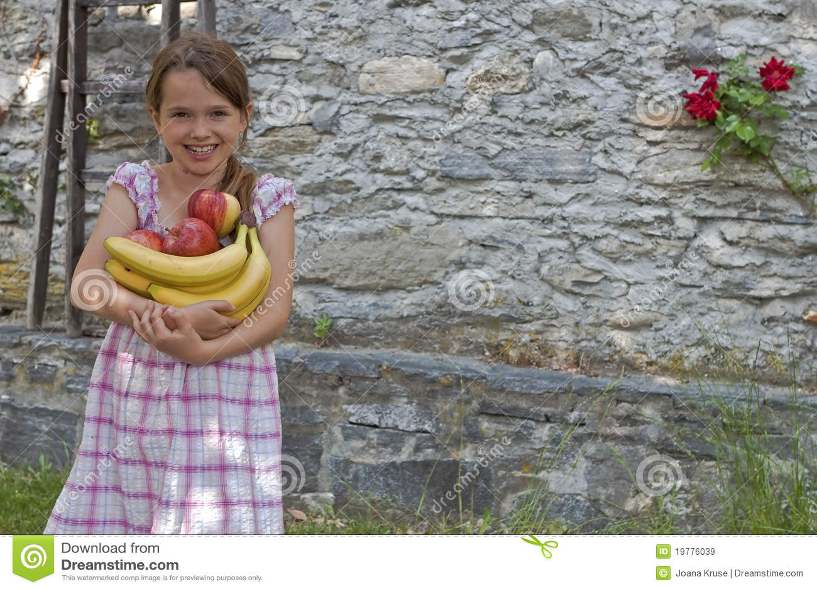 äta fruktflickan