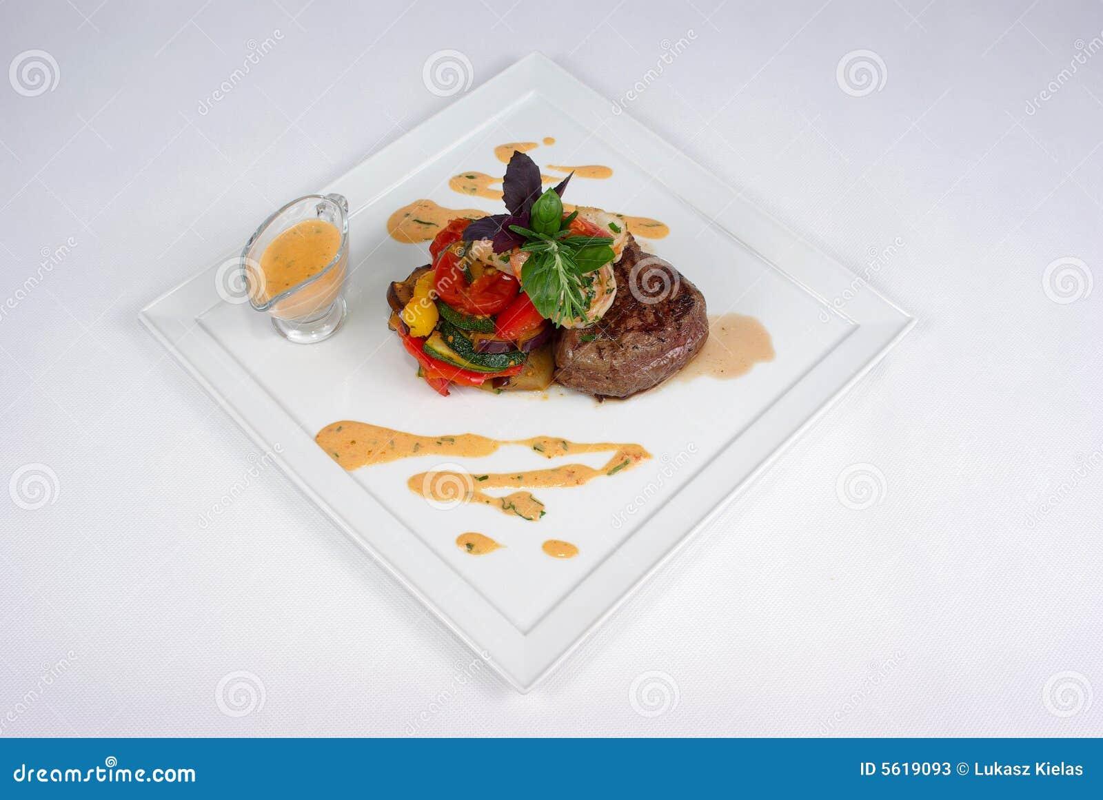 äta middag fin målplatta