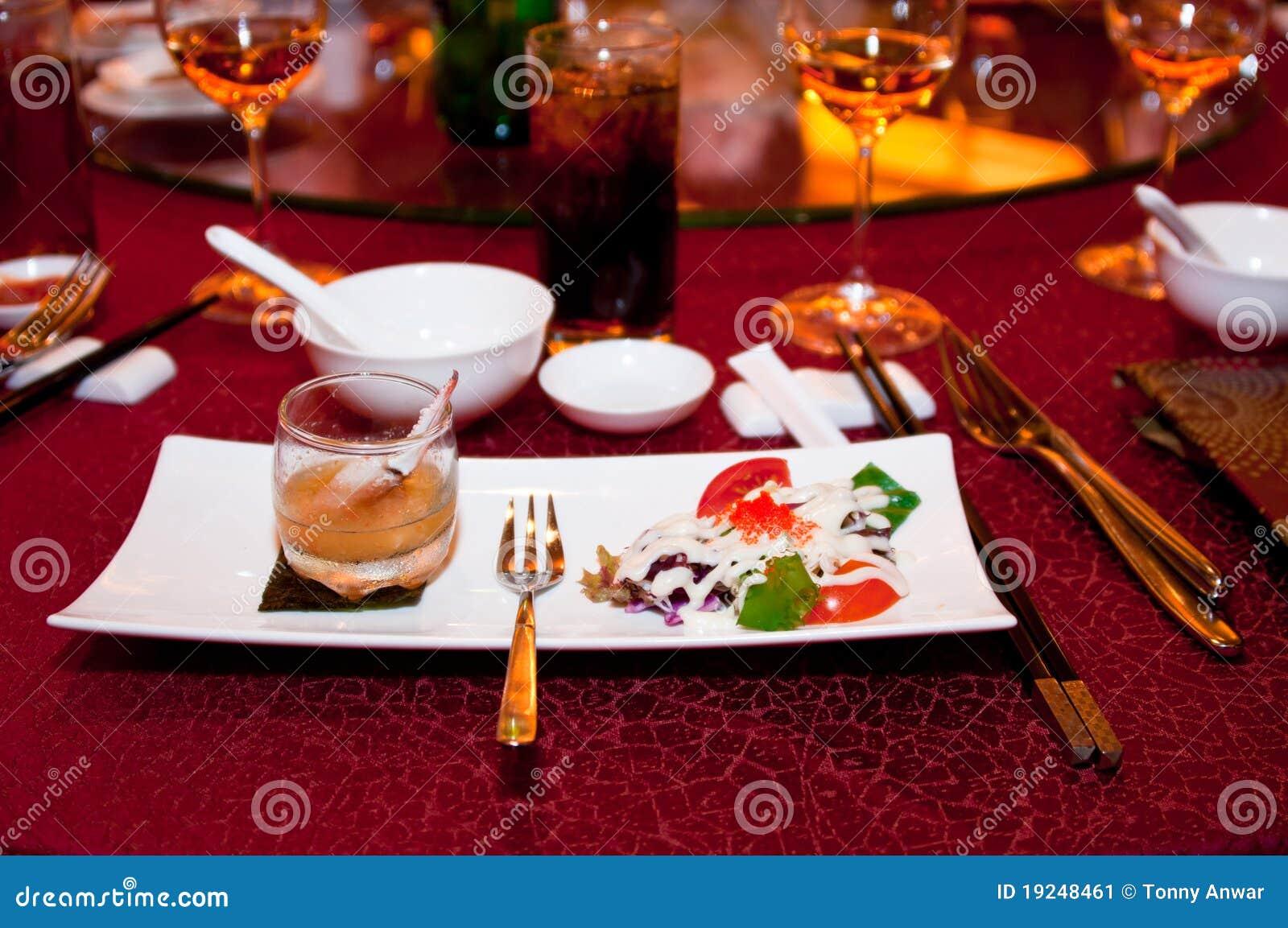 äta middag fine