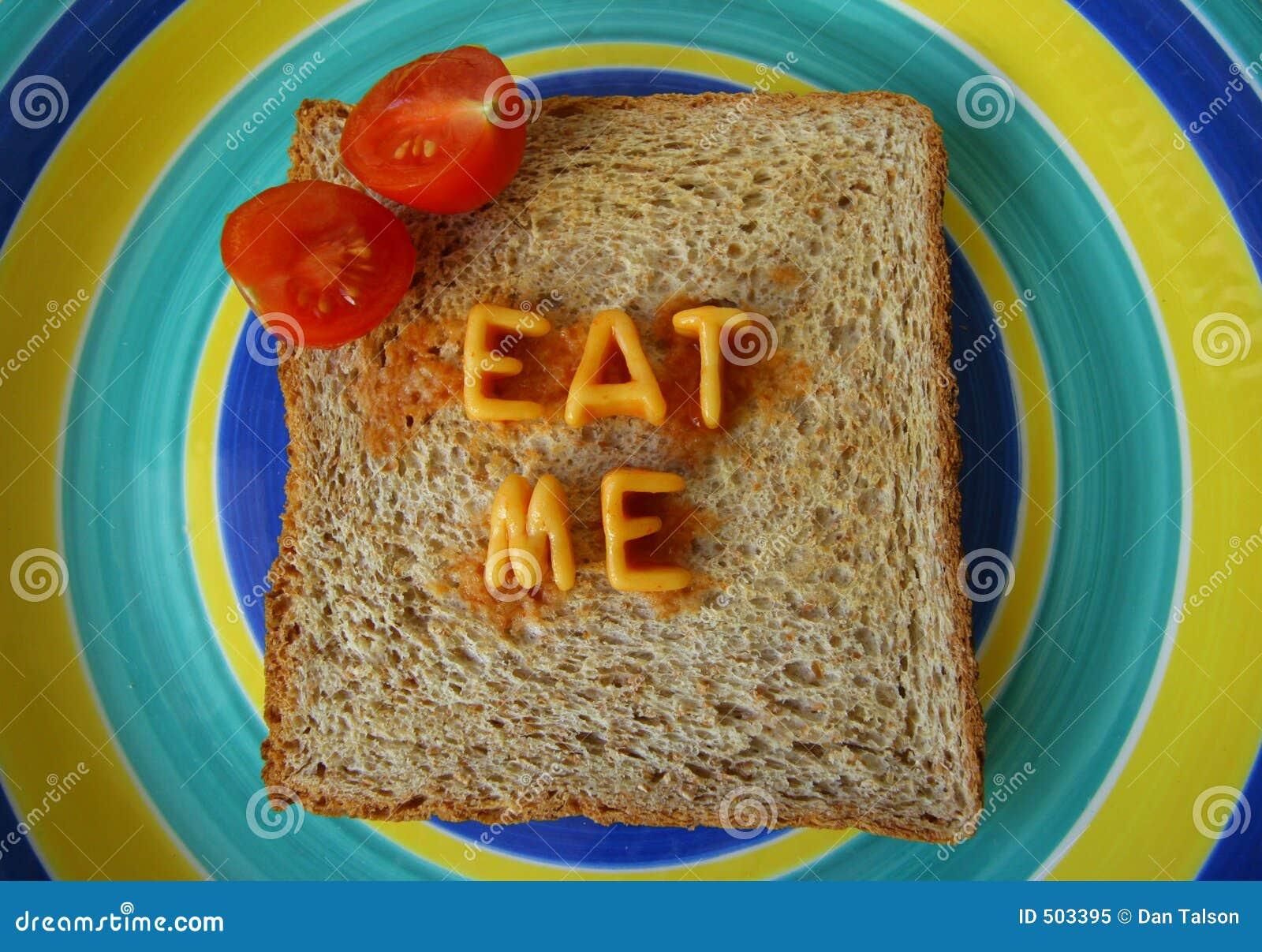 äta mig rostat brödord
