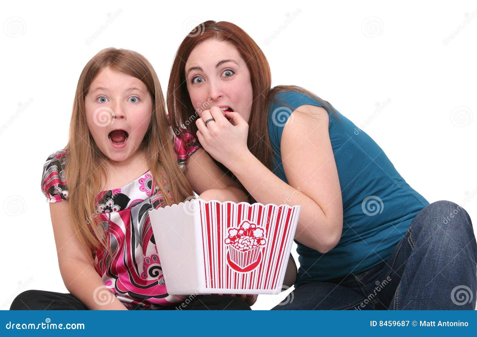 äta popcornsystrar