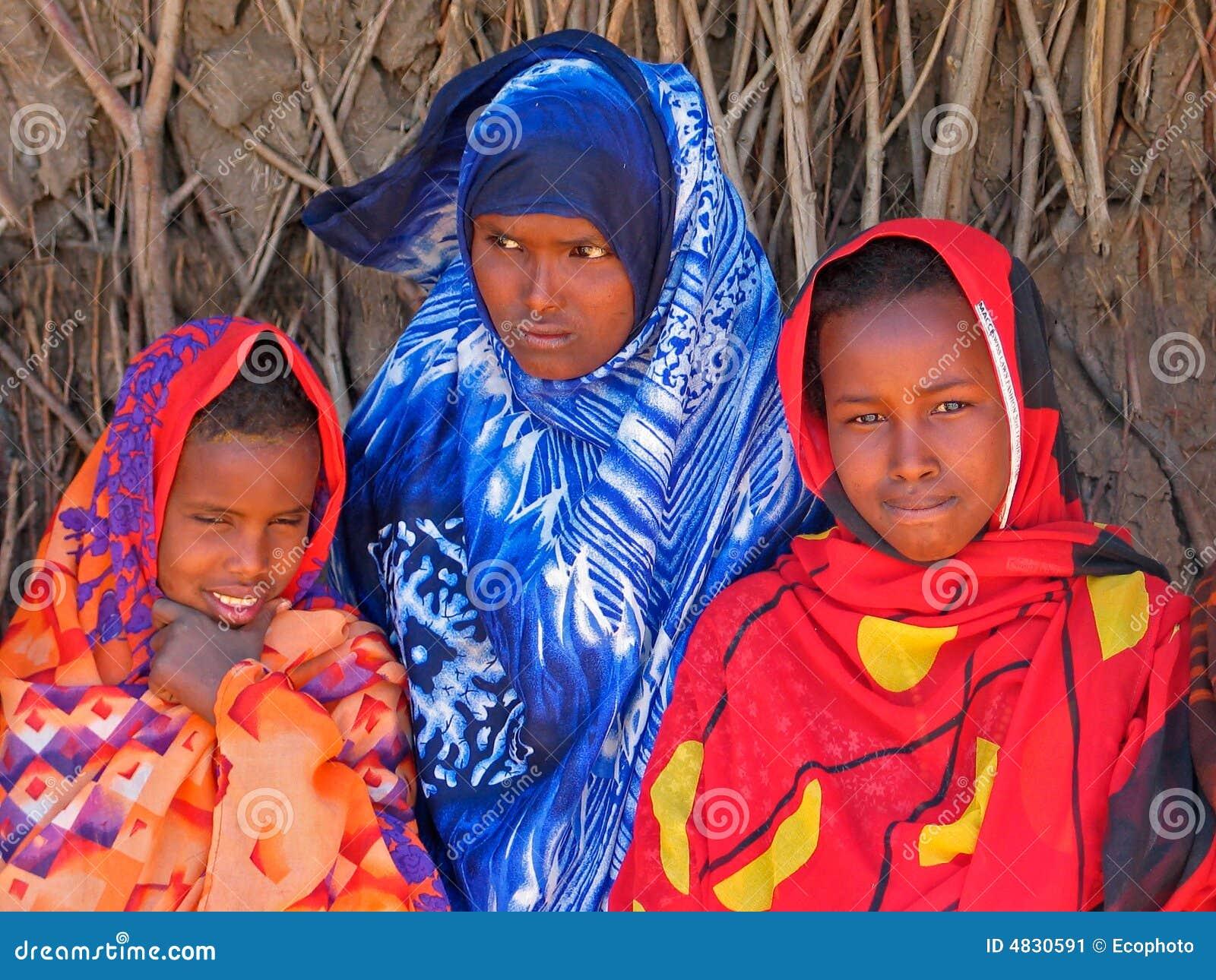 Äthiopische Mädchen