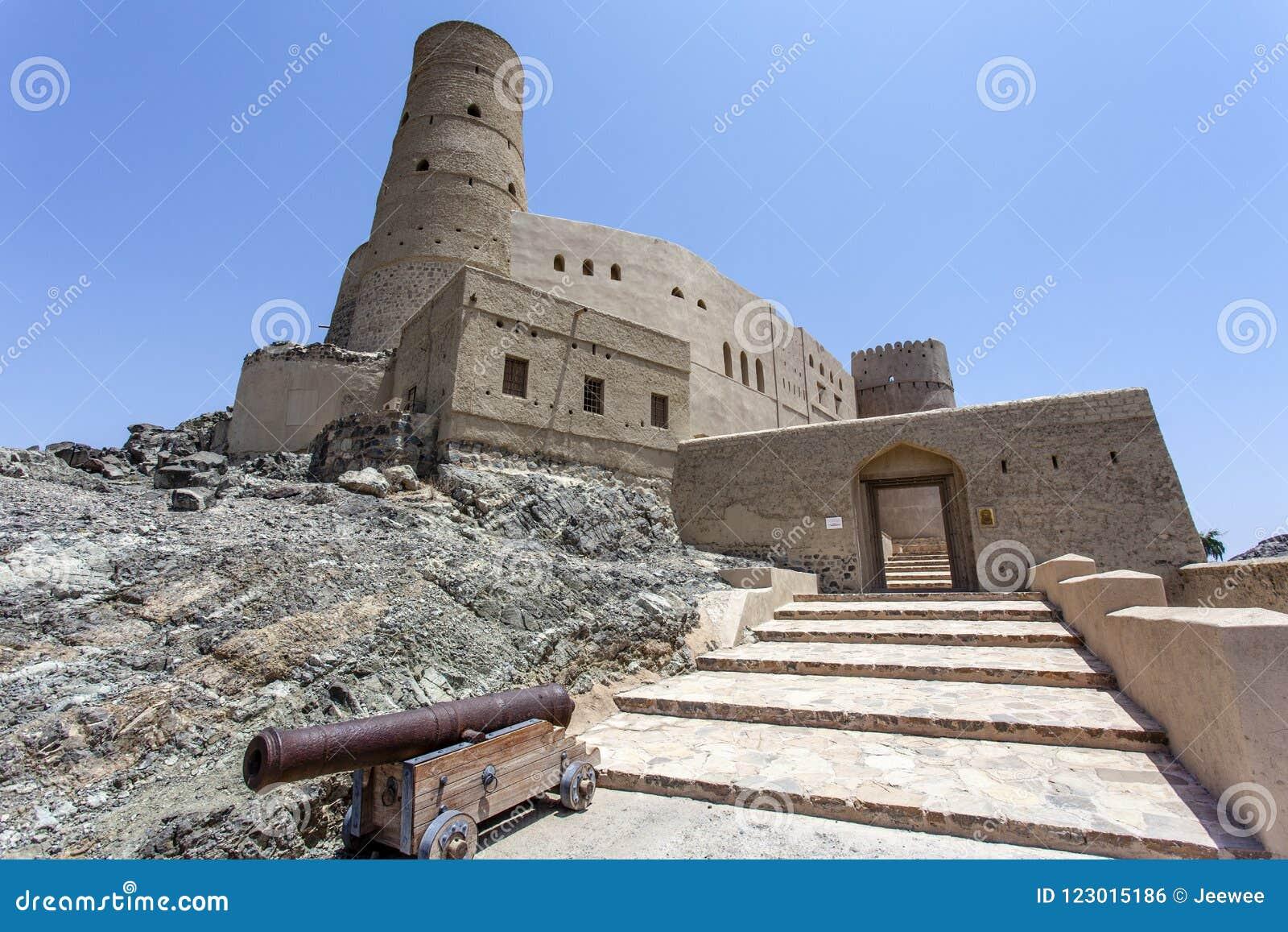 Äußeres von Bahla-Fort in Bahla, Oman, Mittlere Osten