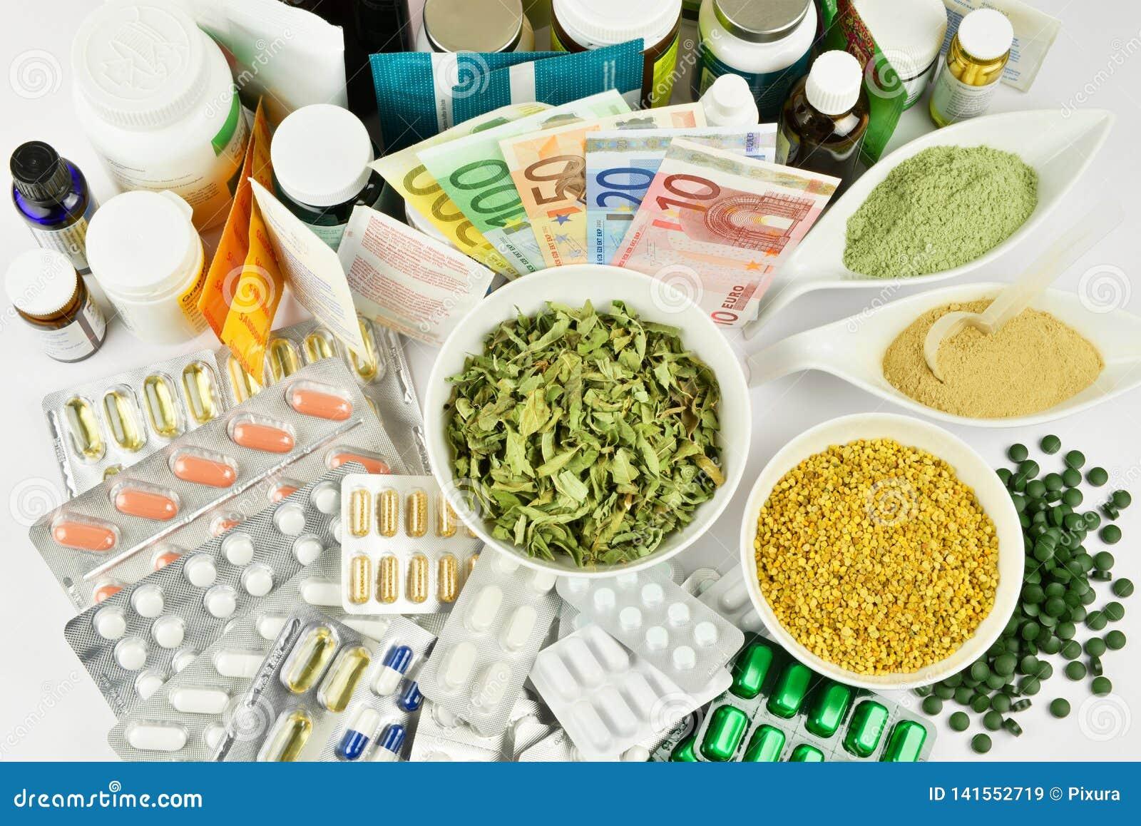 健康营养概念-没有可看见的品牌