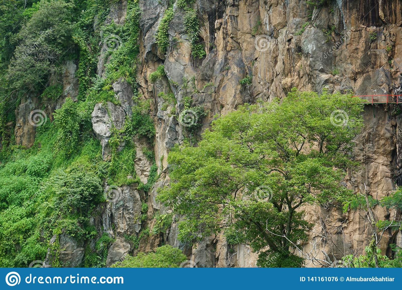 大大理石峭壁