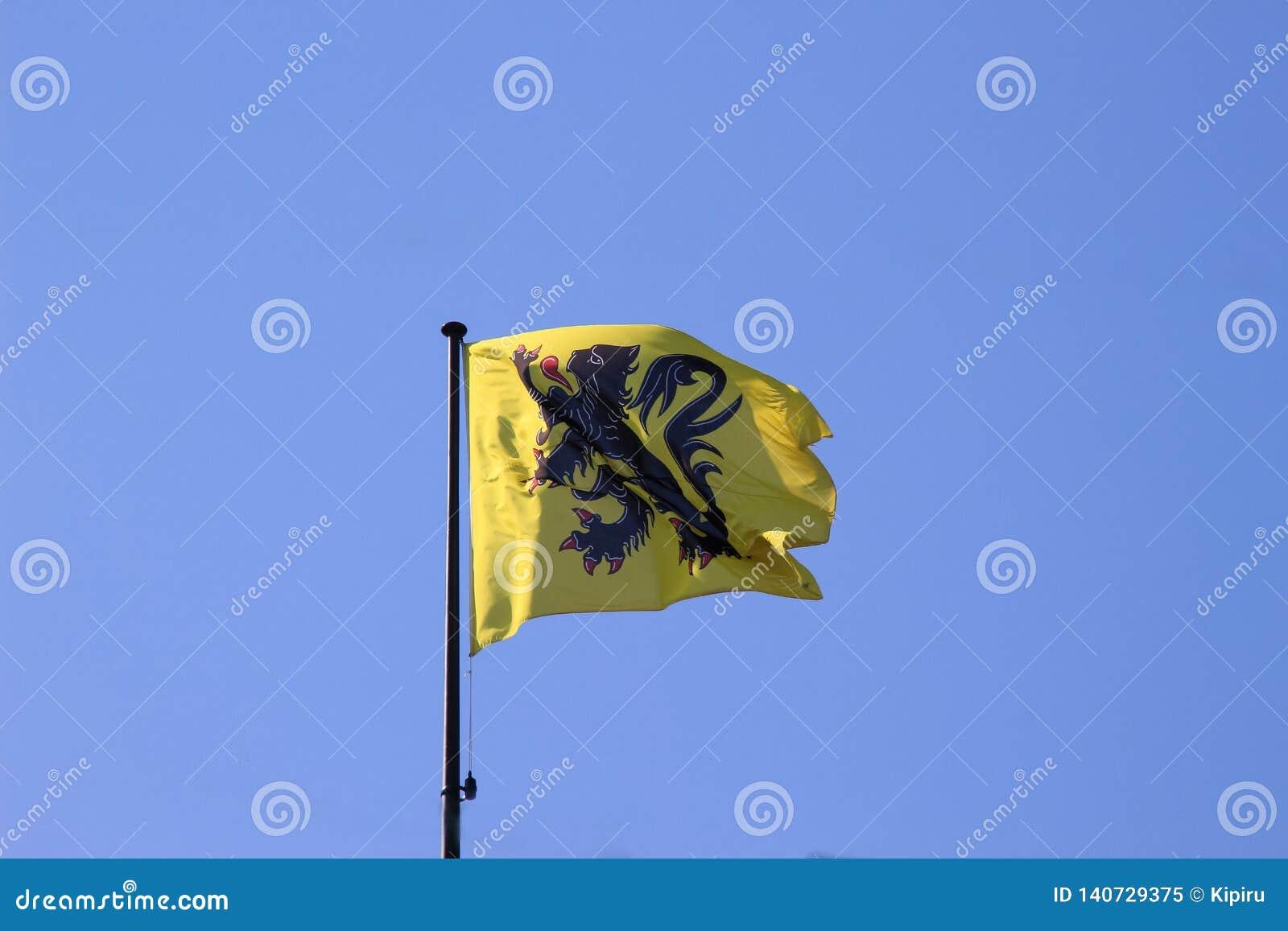 富兰德的旗子