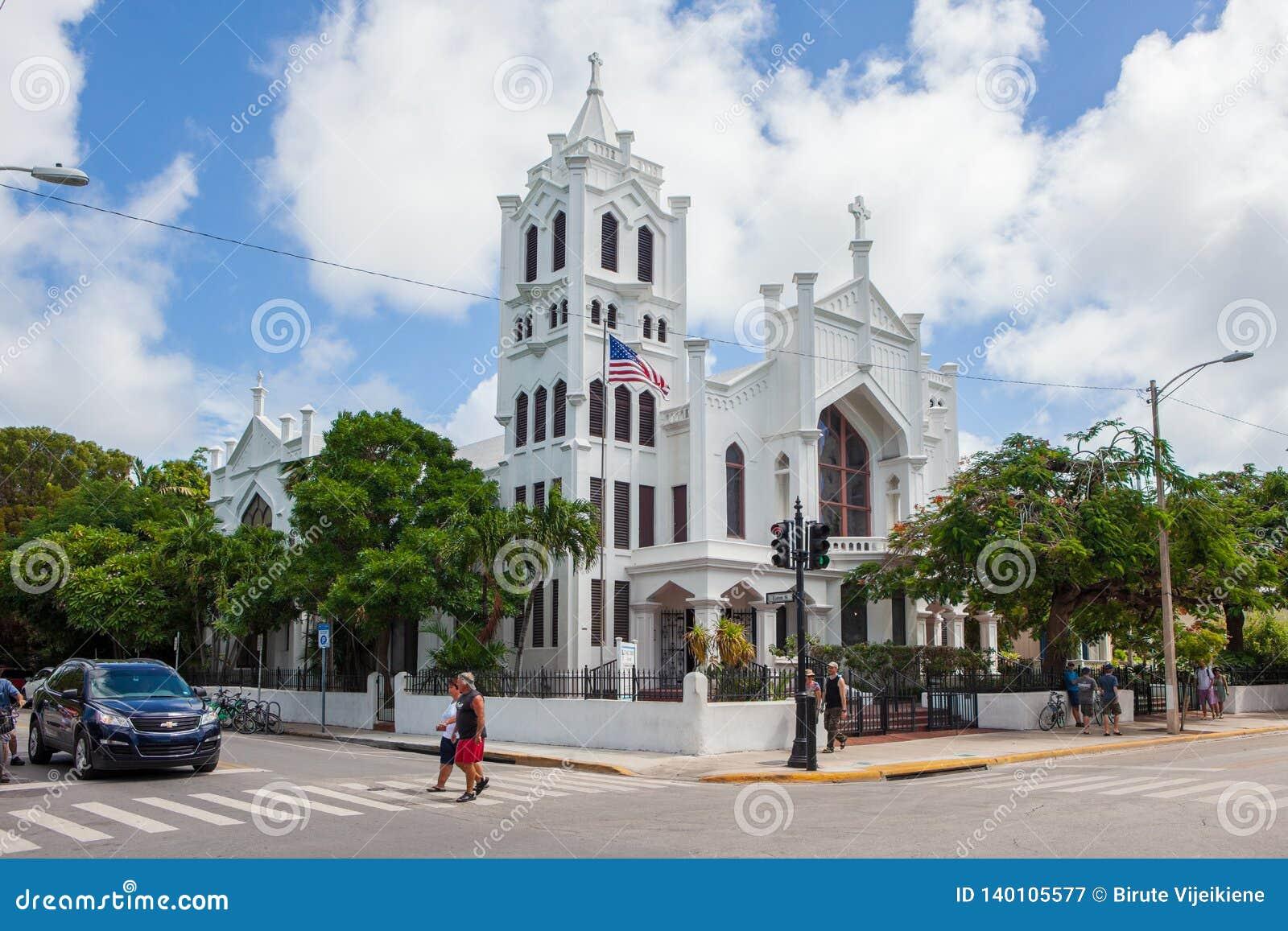 圣保罗的主教制度的教会在基韦斯特岛