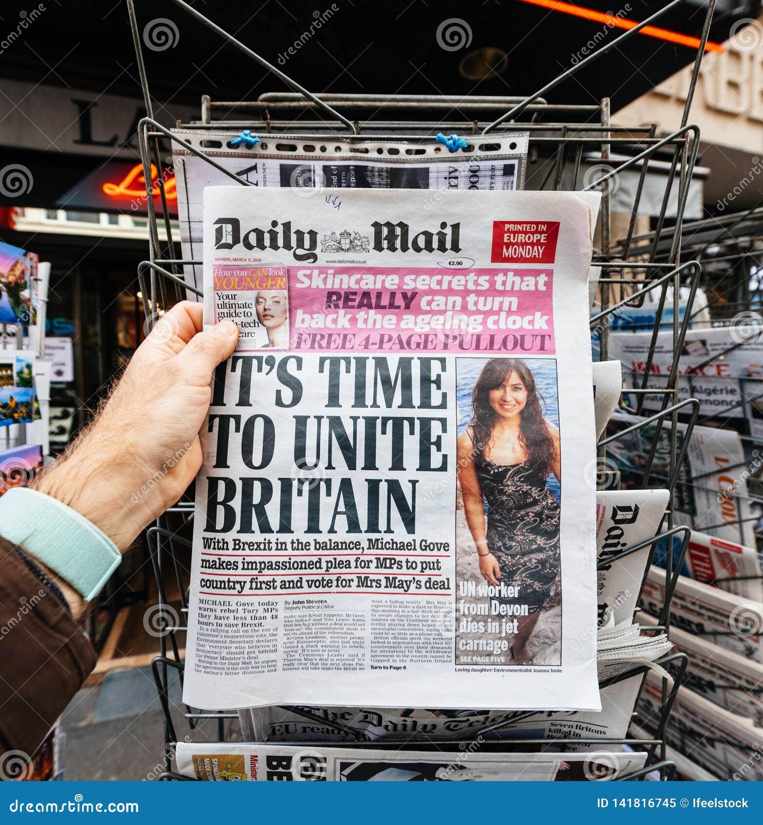 关于Brexit的每日邮报