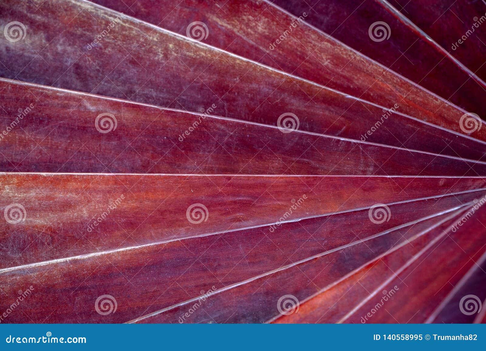 Ślimakowata tekstura Grunge Czerwoni Drewniani bary dla tła