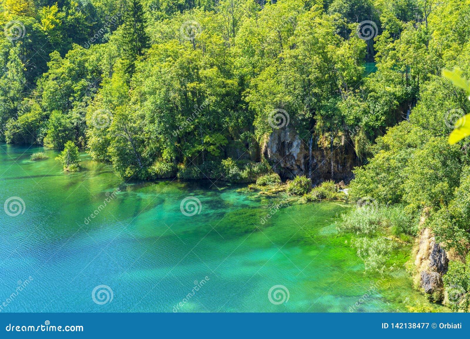 Światło, cień i kolory, Magiczny Plitvice park narodowy