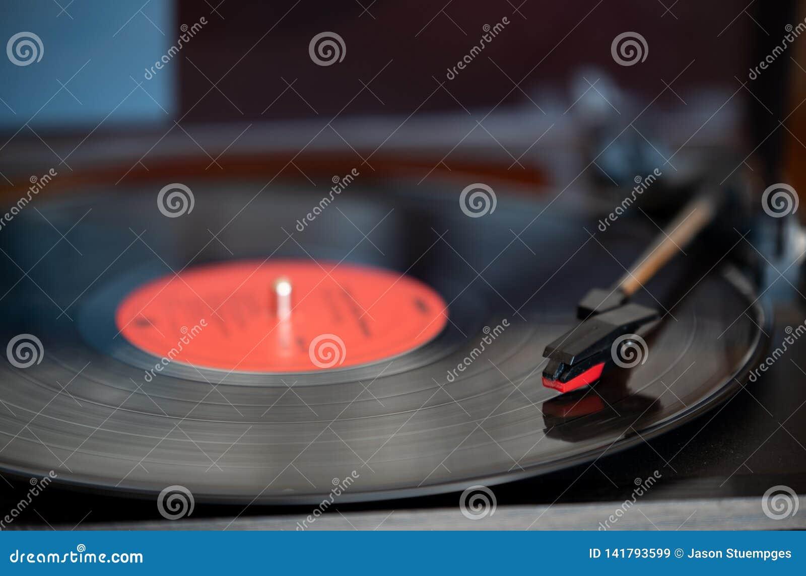 唱片和轮桌
