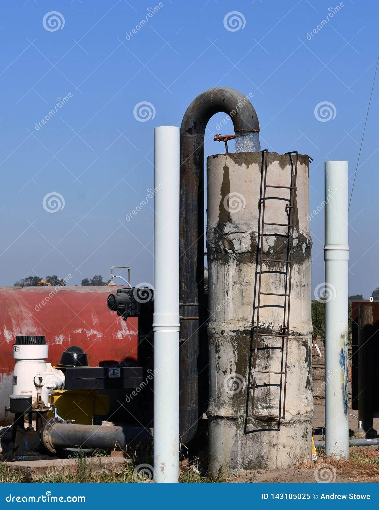 Åkerbruk vattenpump Pumpvatten