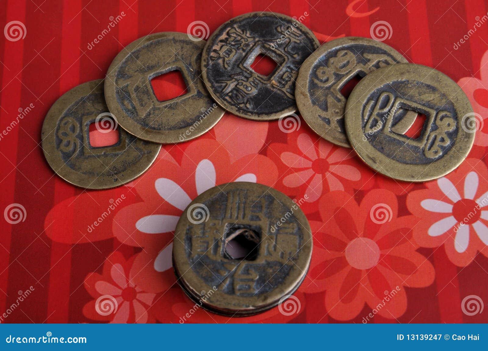 åldrig kinesisk myntkoppar