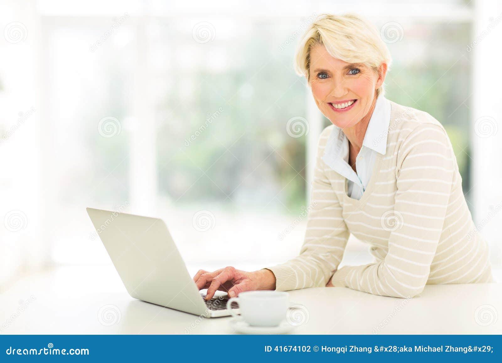 Åldrig kvinnadator för mitt