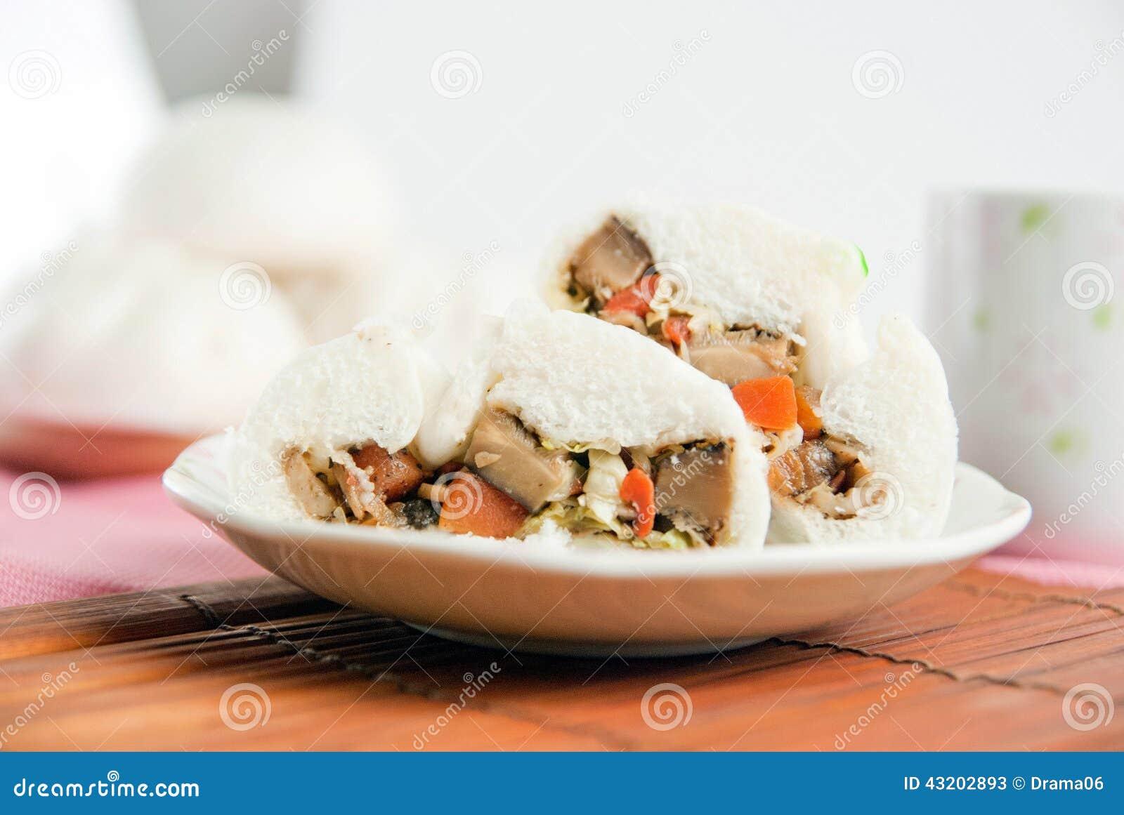 Download Ångade Grisköttbullar, Kinesisk Dim Sum Fotografering för Bildbyråer - Bild av dining, finhackat: 43202893