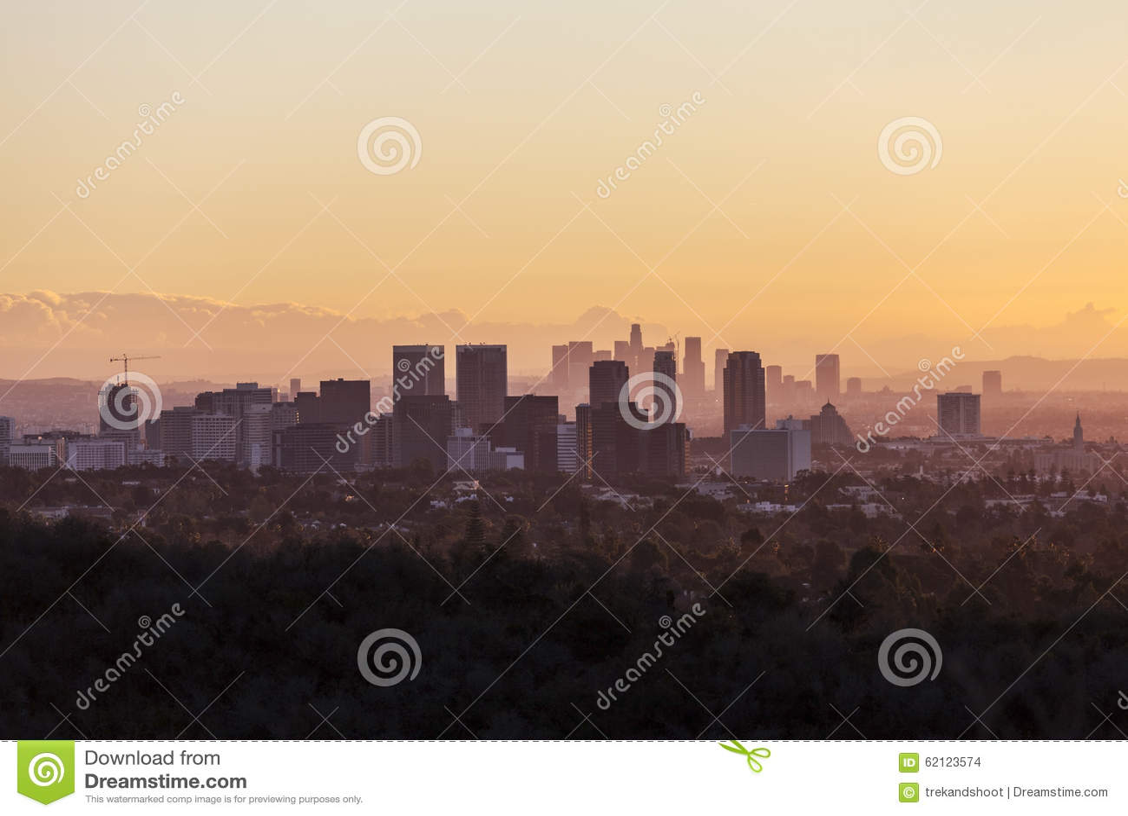 Århundradestad och Los Angeles gryning
