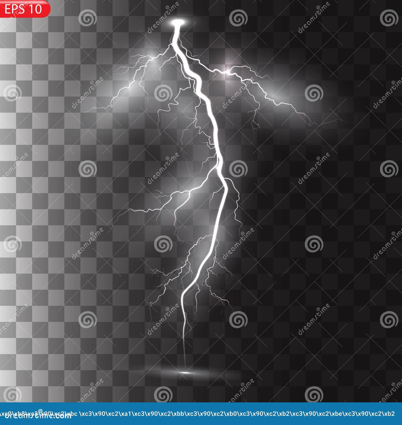 Åska-storm och blixtar