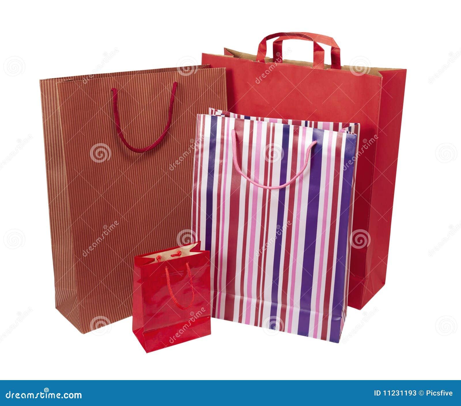 återförsäljnings- shoping för påseconsumerism