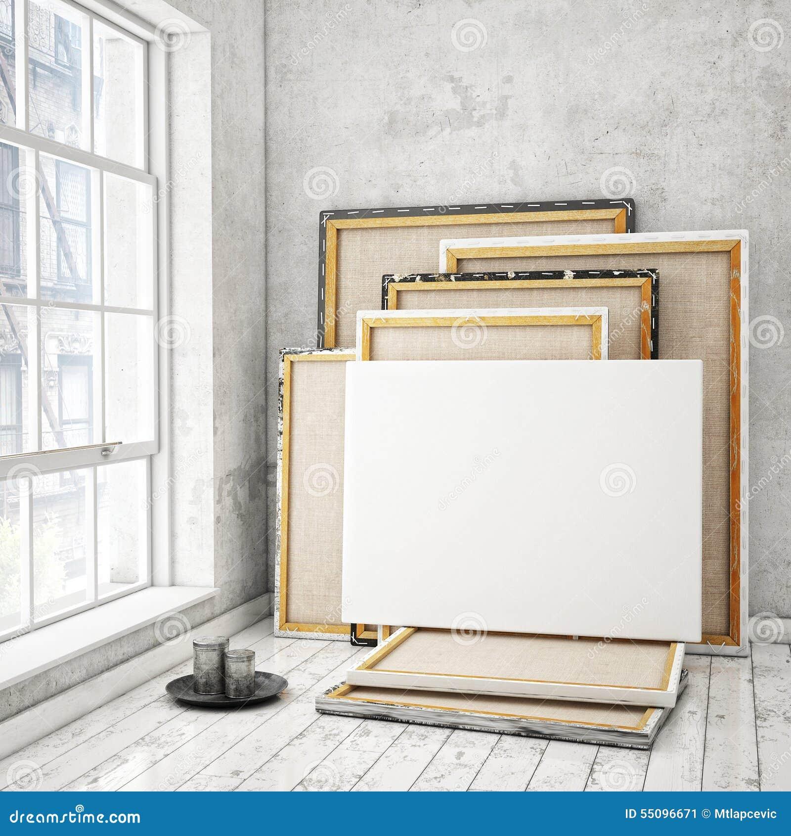 Åtlöje upp affischramar