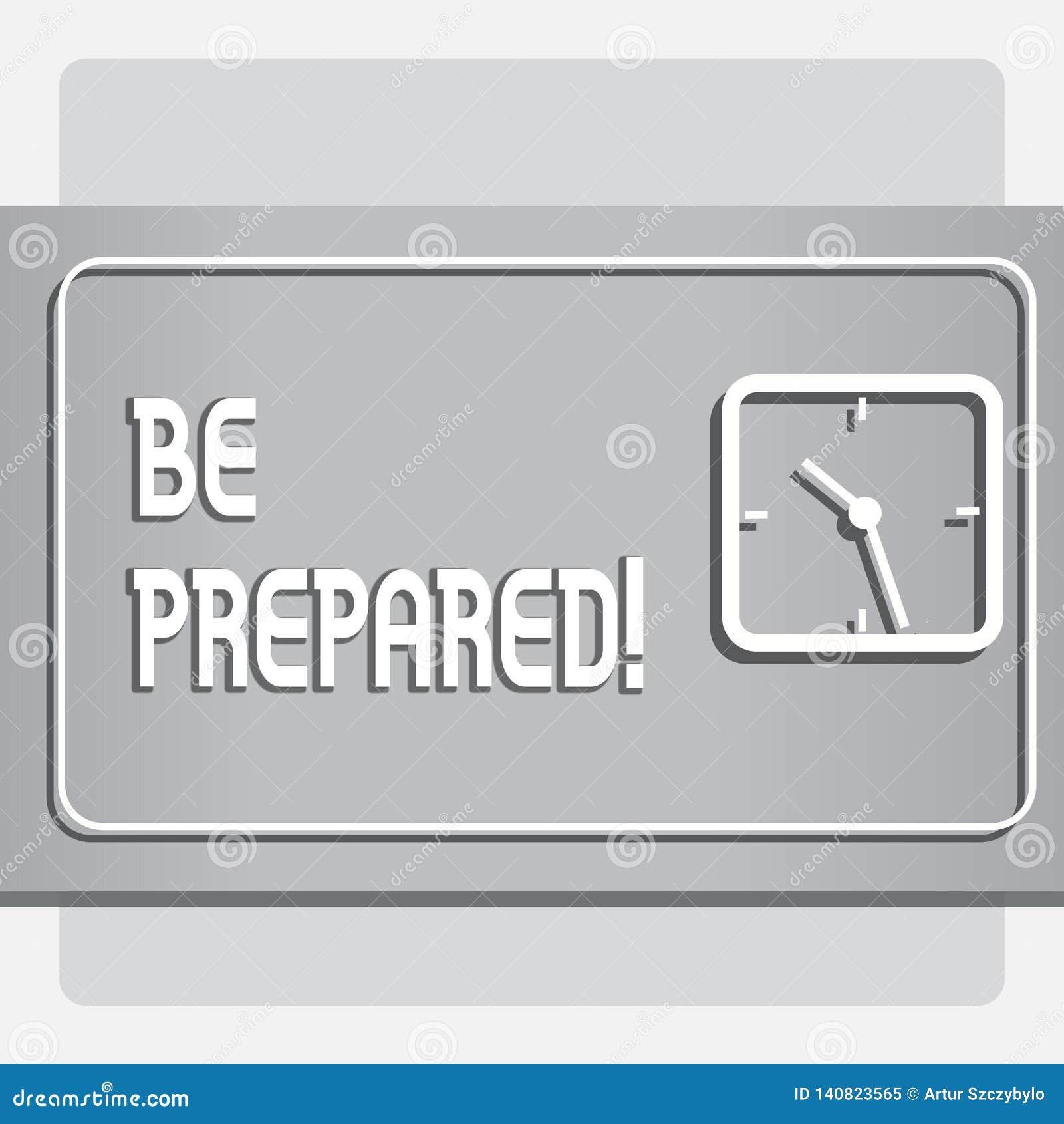 概念性手文字显示准备 企业照片文本逗留准备愿采取机会准备