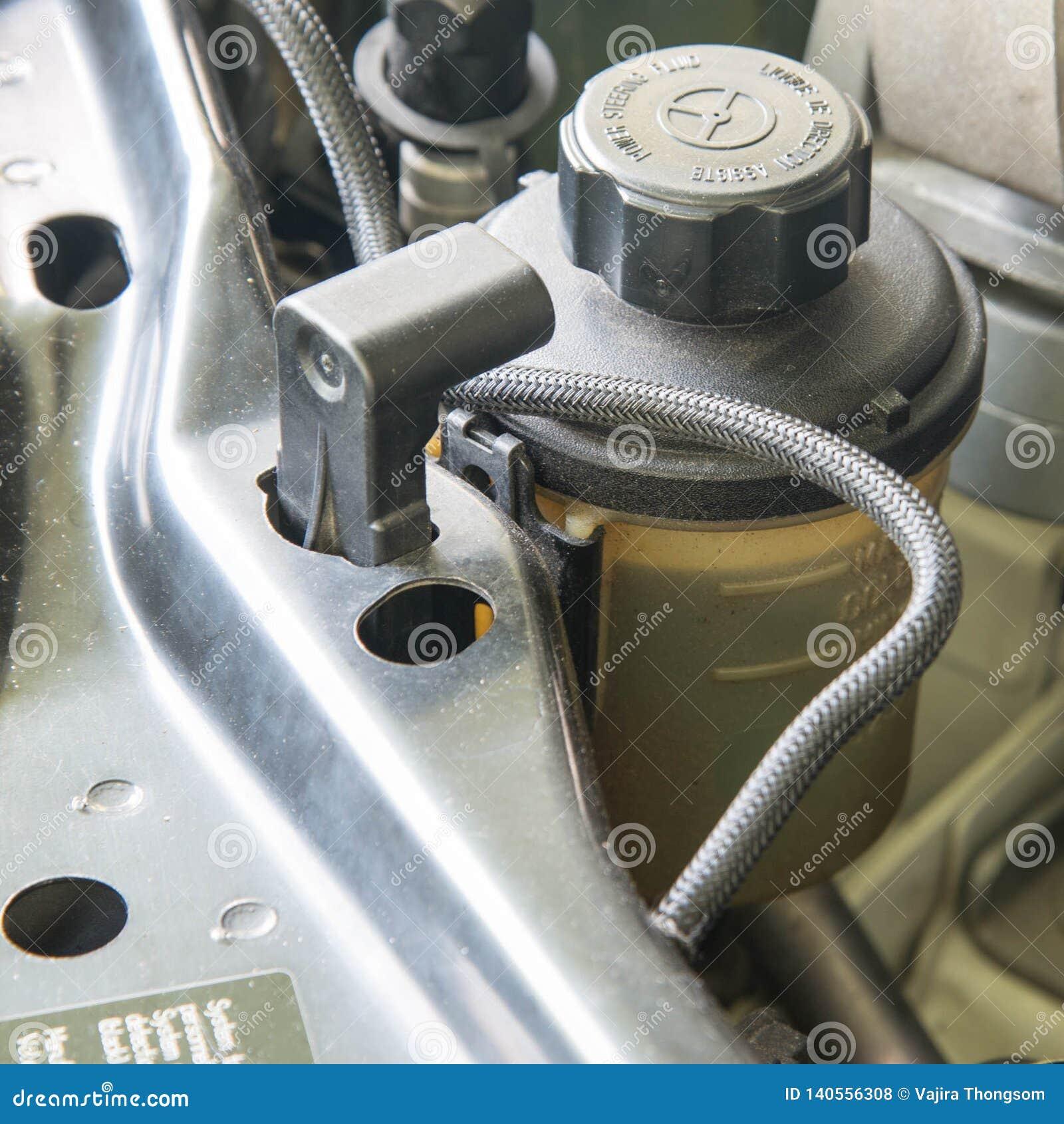 汽车动力方向盘油罐