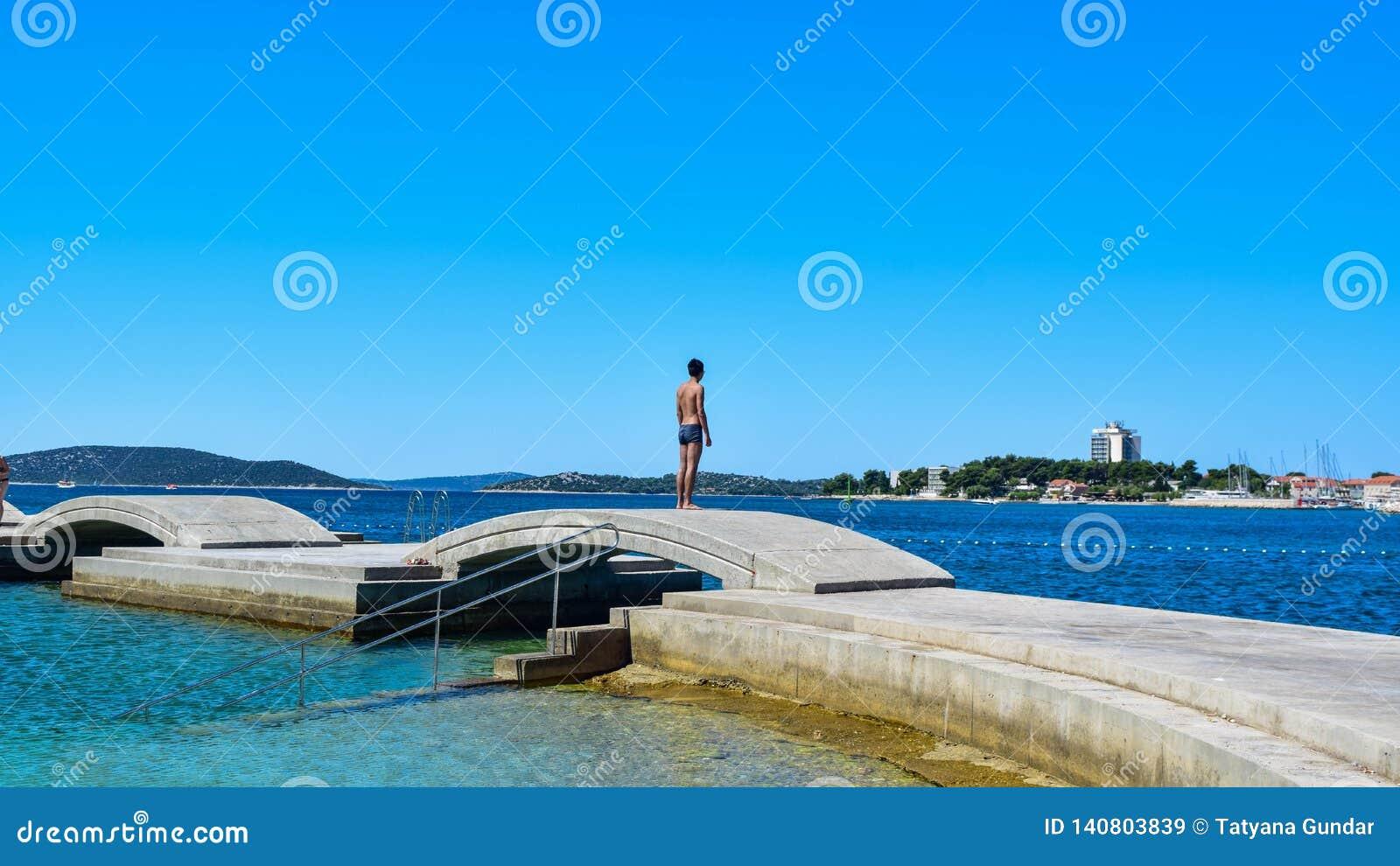 沃迪采海滩,克罗地亚