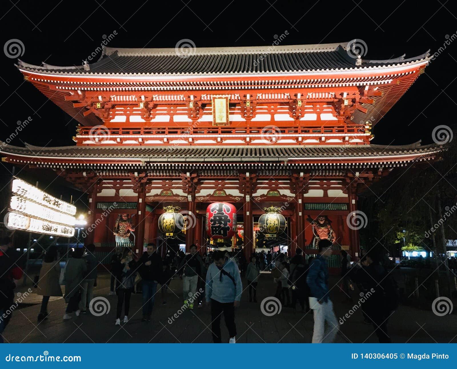 浅草Kannon寺庙