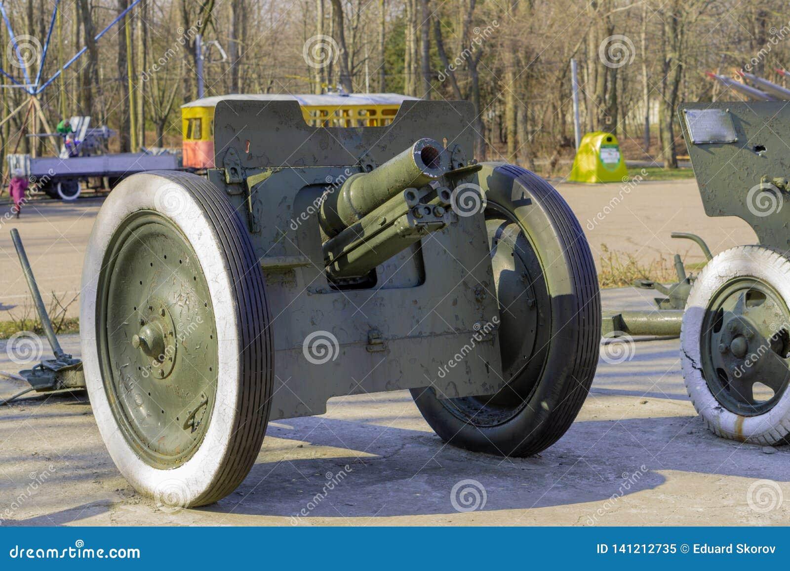 枪,第二次世界大战的大炮