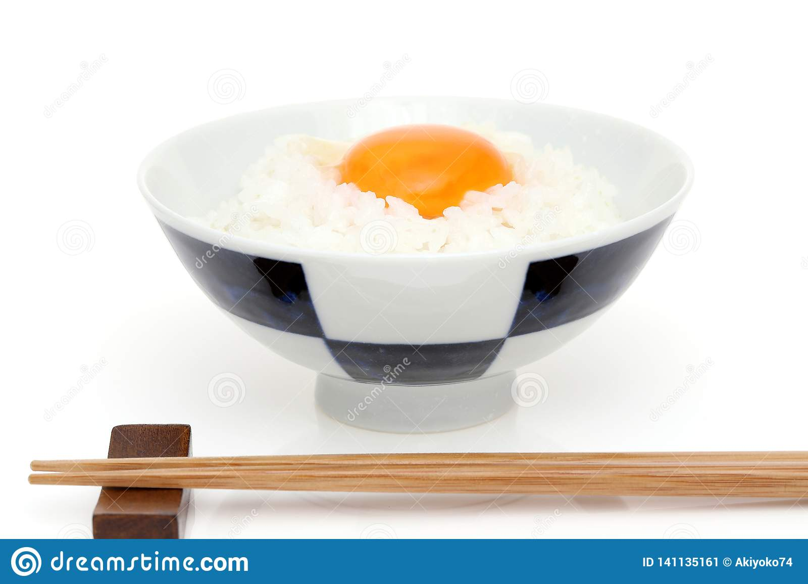 日本米用鸡蛋