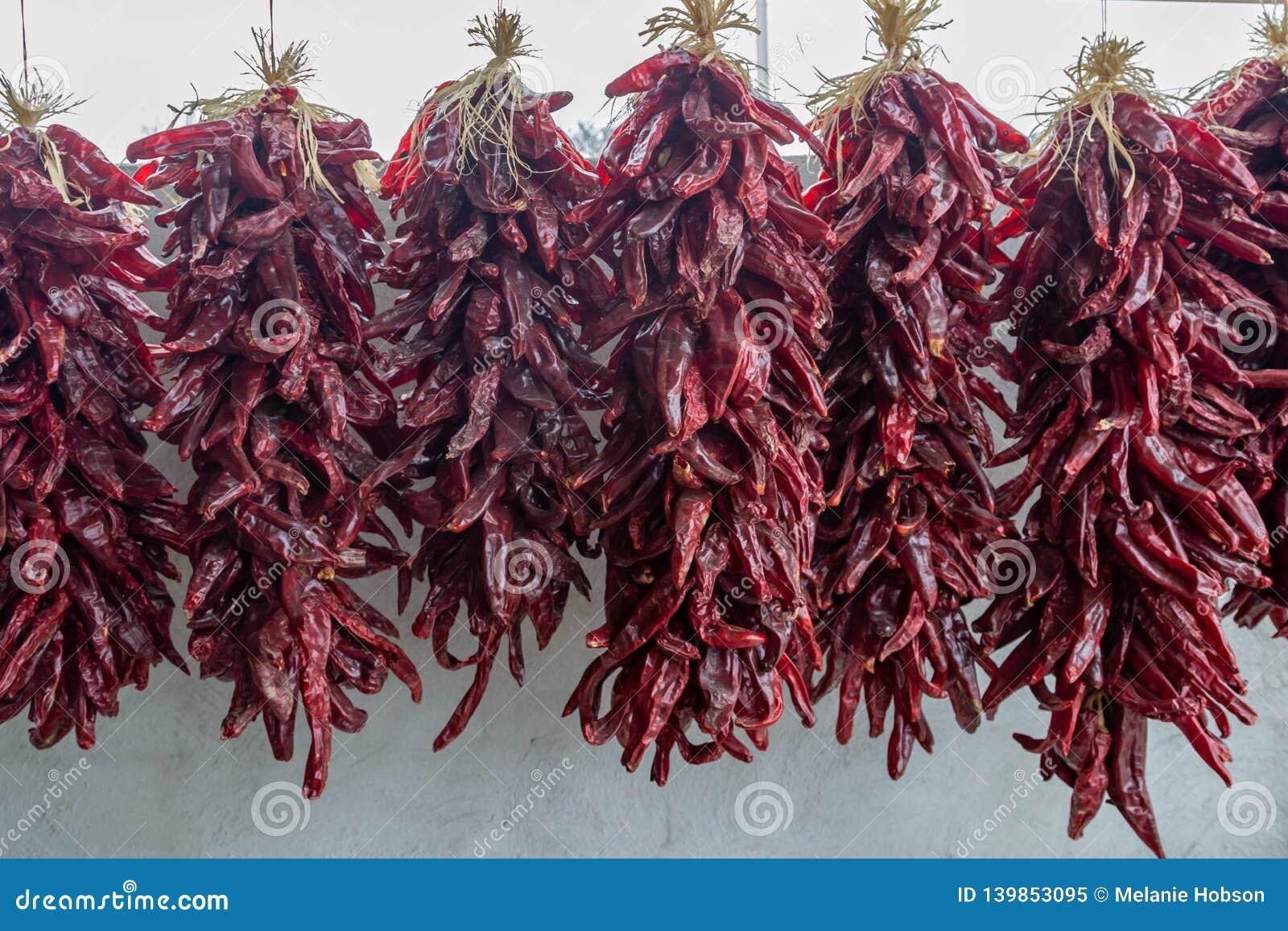 红色辣椒Ristras
