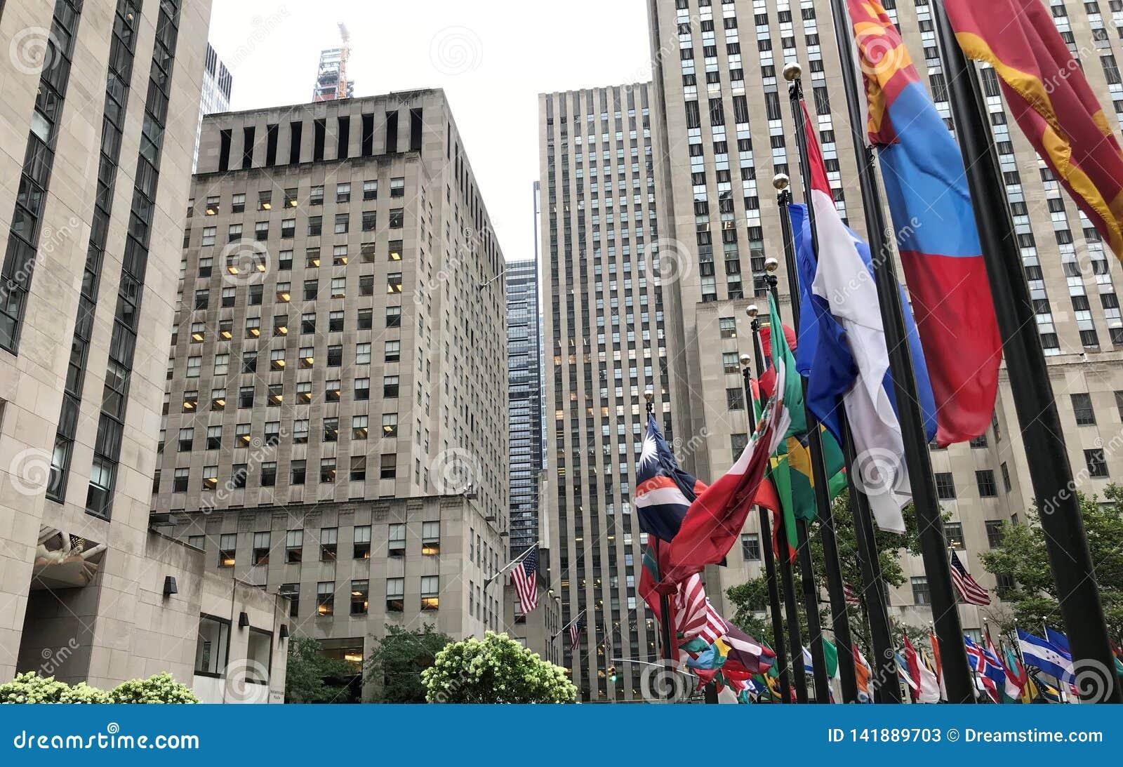 纽约洛克菲勒中心公司