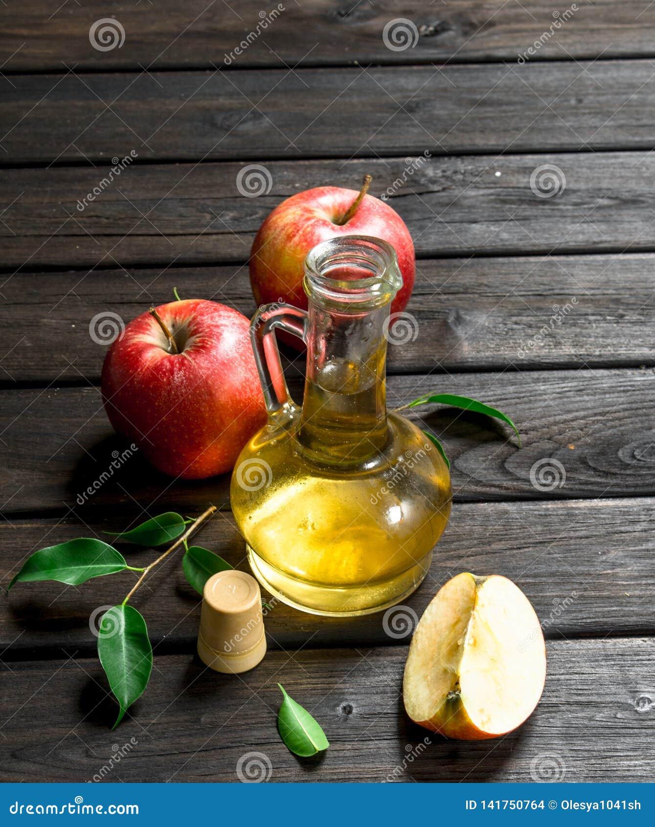 苹果汁醋用新鲜的苹果
