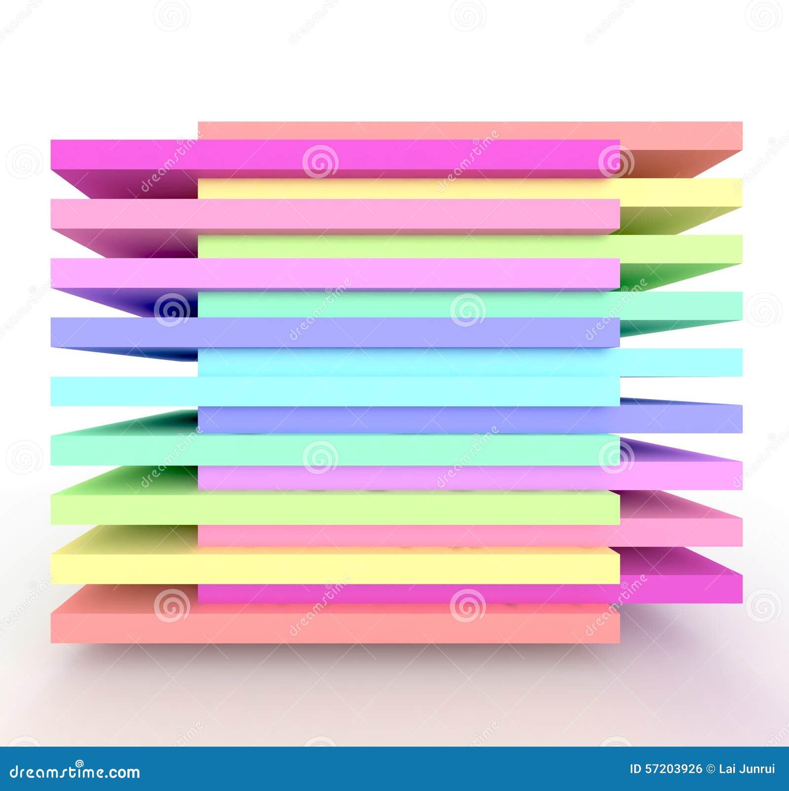 È un arcobaleno 3d