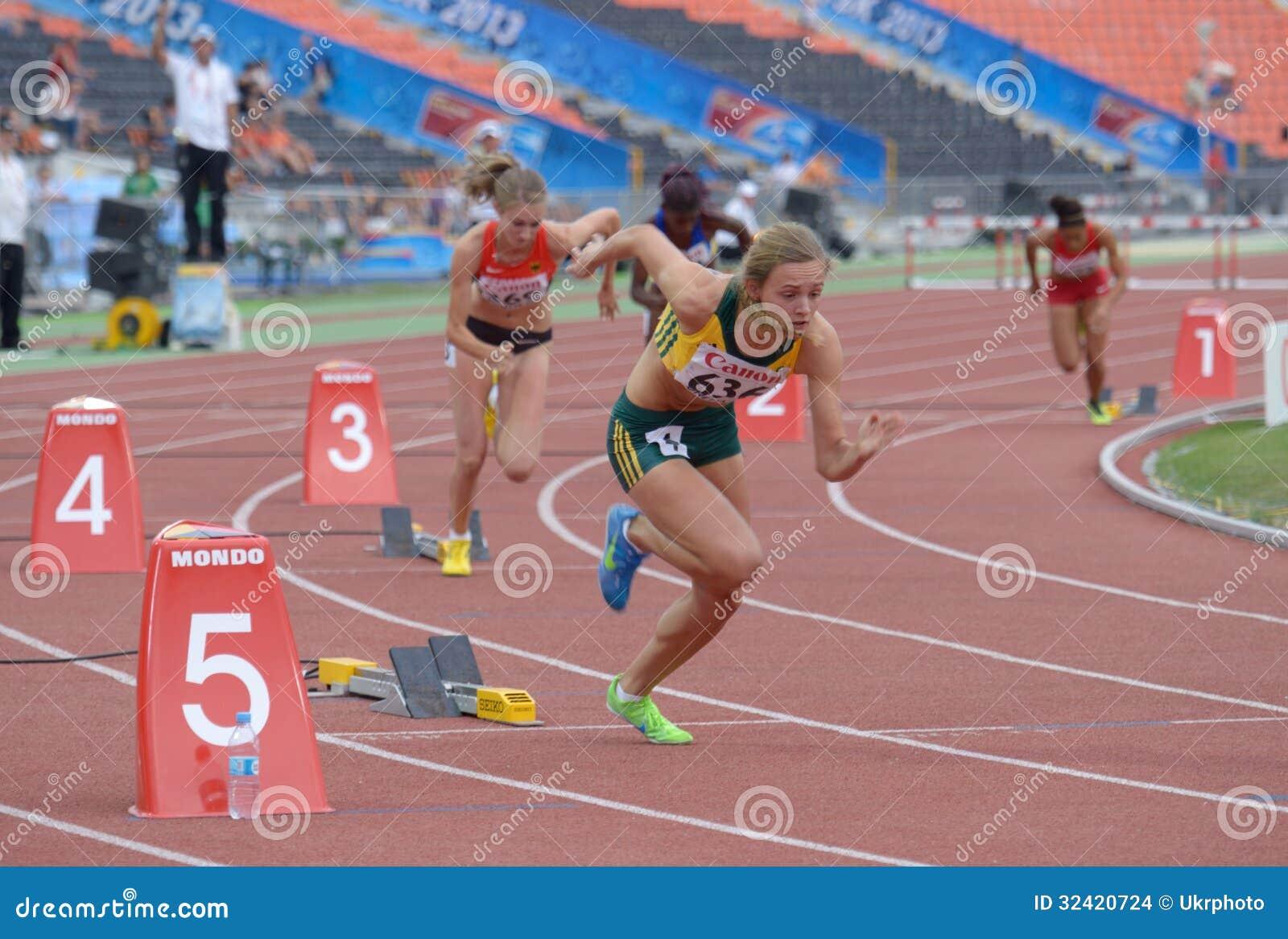 8ème Championnats de la jeunesse du monde d IAAF