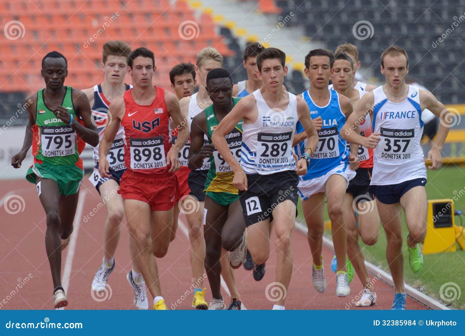 8èmes championnats de la jeunesse du monde d IAAF