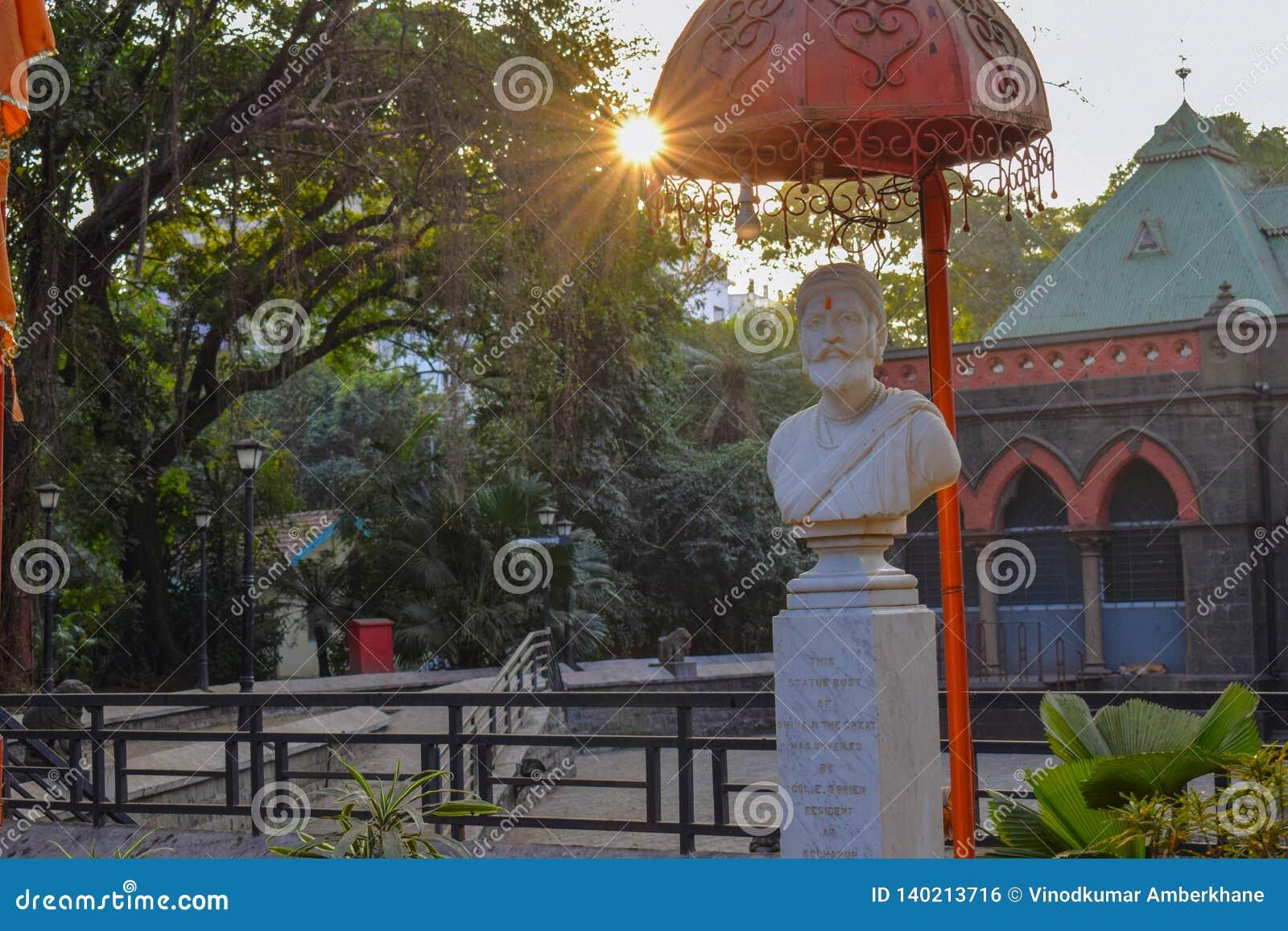 马哈拉施特拉chattrapathi shivaji马哈拉杰的国王